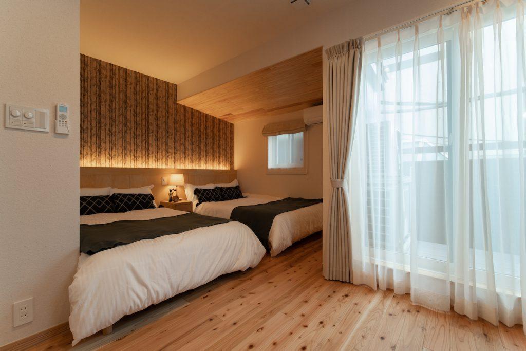 Airbnb民泊運営代行サービスのMinpakが運営する横浜市の旅館業物件。